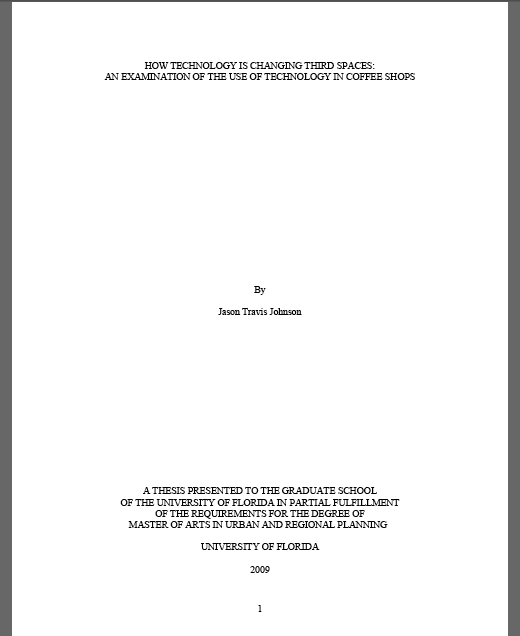 Thesis florida atlantic university latex